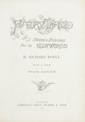 Books:Children's Books, Richard Doyle. In Fairy Land. London: 1870. Firstedition....