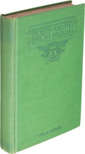 Books:Literature 1900-up, Willa Cather. Youth and the Bright Medusa. New York: 1920.First edition.. ...