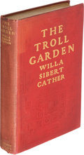 Books:Literature 1900-up, Willa Cather. The Troll Garden. New York: 1905. Firstedition....