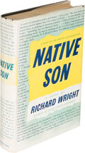 Books:Literature 1900-up, Richard Wright. Native Son. New York: 1940. First edition,signed by the author in the year of publication....