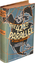 Books:Literature 1900-up, John Dos Passos. The 42nd Parallel. New York: [1930]. Firstedition, review copy....