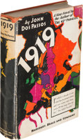 Books:Literature 1900-up, John Dos Passos. 1919. New York: [1932]. First edition,inscribed. [with:] Sheet Signed by Dos Passos. [1932].. ...