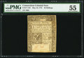Colonial Notes:Connecticut, Connecticut May 10, 1775 40s PMG About Uncirculated 55.. ...