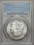1891-CC $1 MS62 PCGS. PCGS Population (3313/9400). NGC Census: (1175/2956). Mintage: 1,618,000. From The Puget Sound...