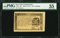 Colonial Notes:New York, New York March 5, 1776 $1/8 PMG Choice Very Fine 35.. ...