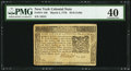 Colonial Notes:New York, New York March 5, 1776 $1/6 PMG Extremely Fine 40.. ...