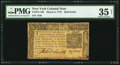 Colonial Notes:New York, New York March 5, 1776 $1/2 PMG Choice Very Fine 35 Net.. ...