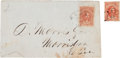 Miscellaneous:Ephemera, Two Confederate General Issue Philatelic Items....