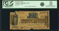 Obsoletes By State:Arkansas, Columbia, AR - Detrick & Long 25 Cents May 8, 1862 Rothert 132-2. PCGS Fine 12 Apparent.. ...