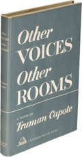 Books:Literature 1900-up, Truman Capote. Other Voices, Other Rooms. [New York: 1948].First edition....