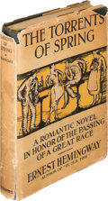 Books:Literature 1900-up, Ernest Hemingway. The Torrents of Spring. A RomanticNovel in Honor of the Passing of a Great Race. New York...