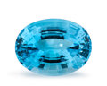 Gems:Faceted, Gemstone: Blue Topaz - 25.11 Ct.. Brazil. 20 x 15 x 10 mm....
