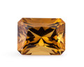 Gems:Faceted, Gemstone: Cognac Quartz - 13.2 Ct.. Brazil. 16.8 x 12.8 x 9.9mm. ...