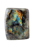 Lapidary Art:Carvings, Labradorite Free-Form. Madagascar. 4.33 x 3.46 x 2.40 inches(11.00 x 8.80 x 6.10 cm). ...