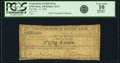 Obsoletes By State:Arkansas, Little Rock, AR - Corporation of Little Rock 50 Cents Dec. 13, 1839 Rothert 421-3. PCGS Very Good 10 Apparent.. ...