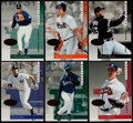 Baseball Cards:Sets, 1996 Leaf Signature Gold Press Proof Near Set (131/150) With 4 Extras....