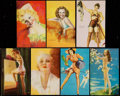 "Non-Sport Cards:Lots, 1940's Mutoscope ""All American Girls"" Collection (100). ..."