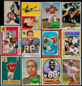 Football Cards:Lots, 1951-94 Multi-Brand Football Collection (154) With Stars....