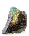 Lapidary Art:Carvings, Polished Labradorite. Madagascar. 7.48 x 5.98 x 2.76 inches(19.00 x 15.20 x 7.00 cm). ...