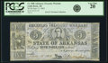 Obsoletes By State:Arkansas, Little Rock, AR - Lot of 2 Arkansas Treasury Warrant $5 Denomination Types.. ... (Total: 2 notes)