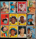 Baseball Cards:Lots, 1952-61 Bowman & Topps Baseball Collection (218)....
