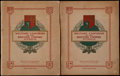 "Non-Sport Cards:Sets, 1938 John Player & Sons ""Military Uniforms of The BritishEmpire Overseas"" Sets (2) With Albums...."