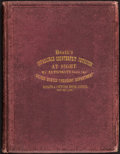 Miscellaneous:Other, Heath's Infallible Counterfeit Detector at Sight 1866 & 1867Second Edition Banking House and Counting Room Edition.. ...