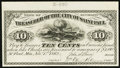 Obsoletes By State:Minnesota, St. Paul, MN- City of Saint Paul 10¢ Nov. 1, 1862 Hewitt F10-3Proof. ...