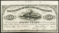 Obsoletes By State:Minnesota, St. Paul, MN- City of Saint Paul 50¢ Nov. 1, 1862 Hewitt F50-3Proof. ...
