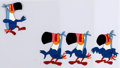 Animation Art:Production Cel, Froot Loops Toucan Sam Production Cel Sequence of 4(Kellogg's, c. 1980s-90s).... (Total: 4 )