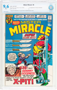 Mister Miracle #2 (DC, 1971) CBCS NM+ 9.6 White pages