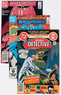 Modern Age (1980-Present):Superhero, Detective Comics Group of 75 (DC, 1980-95) Condition: AverageVF.... (Total: 75 Comic Books)