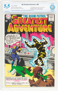 My Greatest Adventure #80 (DC, 1963) CBCS FN- 5.5 White pages