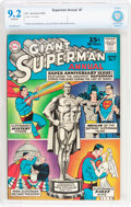 Silver Age (1956-1969):Superhero, Superman Annual #7 (DC, 1963) CBCS NM- 9.2 Off-white pages....