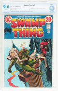 Bronze Age (1970-1979):Horror, Swamp Thing #2 (DC, 1973) CBCS NM+ 9.6 White pages....