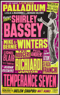 Movie Posters:Rock and Roll, Shirley Bassey at the London Palladium & Other Lot (Leslie A.Macdonnell & Bernard Delfont, 1962). British Concert Posters(... (Total: 2 Items)