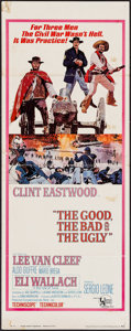 "Movie Posters:Western, The Good, the Bad and the Ugly (United Artists, 1968). Insert (14"" X 36""). Western.. ..."