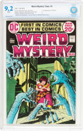 Bronze Age (1970-1979):Horror, Weird Mystery Tales #1 (DC, 1972) CBCS NM- 9.2 White pages....