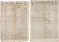 Political:Memorial (1800-present), Abraham Lincoln: Assassination Newspapers and More....