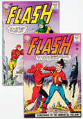 Silver Age (1956-1969):Superhero, The Flash #137 and 146 Group (DC, 1963-64) Condition: Average FN-.... (Total: 2 Comic Books)