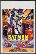 "Movie Posters:Action, Batman (20th Century Fox, 1966). Belgian (14.5"" X 21.5""). Action....."