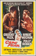 "Movie Posters:Thriller, Cape Fear (Universal International, 1962). One Sheet (27"" X 41""). Thriller.. ..."