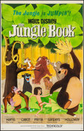 """Movie Posters:Animation, The Jungle Book (Buena Vista, 1967). Trimmed One Sheet (26.25"""" X 41""""). Animation.. ..."""