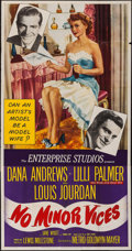 """Movie Posters:Comedy, No Minor Vices (MGM, 1948). Three Sheet (41"""" X 79""""). Comedy.. ..."""