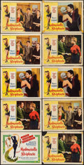 """Movie Posters:Foreign, Mademoiselle Striptease (DCA, 1956). Lobby Card Set of 4 & Lobby Cards (6) (11"""" X 14""""). Foreign.. ... (Total: 10 Items)"""