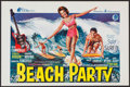 """Movie Posters:Comedy, Beach Party (American International, 1963). Belgian (14.25"""" X 22.5""""). Comedy.. ..."""