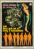 "Movie Posters:Foreign, Last Man to Kill (Cinedia, 1968). Spanish One Sheet (26"" X 37.5""). Foreign.. ..."