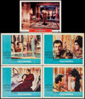 "Movie Posters:Drama, Cleopatra & Other Lot (20th Century Fox, 1963). Lobby Cards (5)(11"" X 14""). Drama.. ... (Total: 5 Items)"