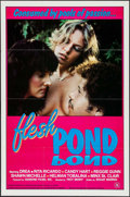 """Movie Posters:Adult, Flesh Pond & Others Lot (Hollywood International Film Corp., 1983). One Sheets (3) (25"""" X 38"""" & 27"""" X 41"""") & Uncut Pressbook... (Total: 4 Items)"""