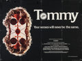 "Movie Posters:Rock and Roll, Tommy (Hemdale Films, 1975). British Quad (30"" X 40""). Rock and Roll.. ..."